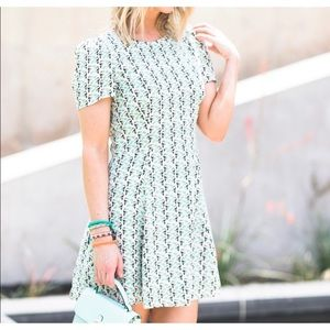Zara Toucan Flare Dress